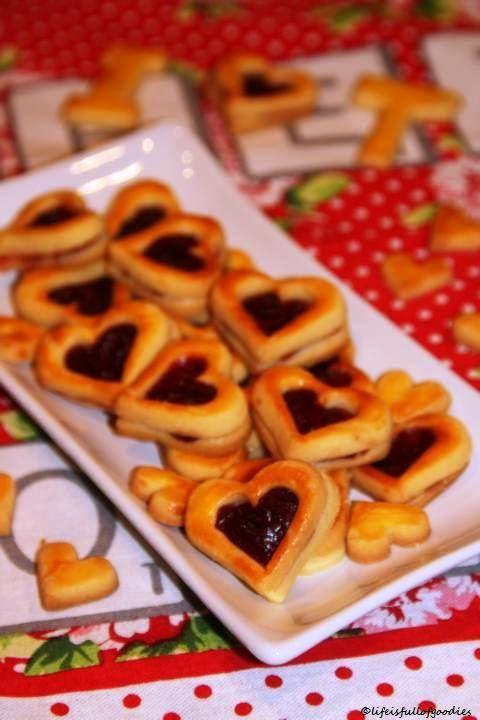 Valentinsherzen mit Mascarpone