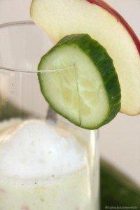 Gurken-Apfel-Smoothie mit Joghurt