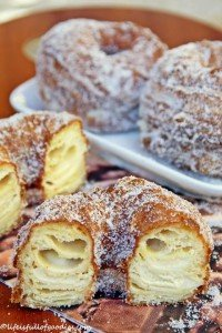 Bavarian Cream Filled Cronuts