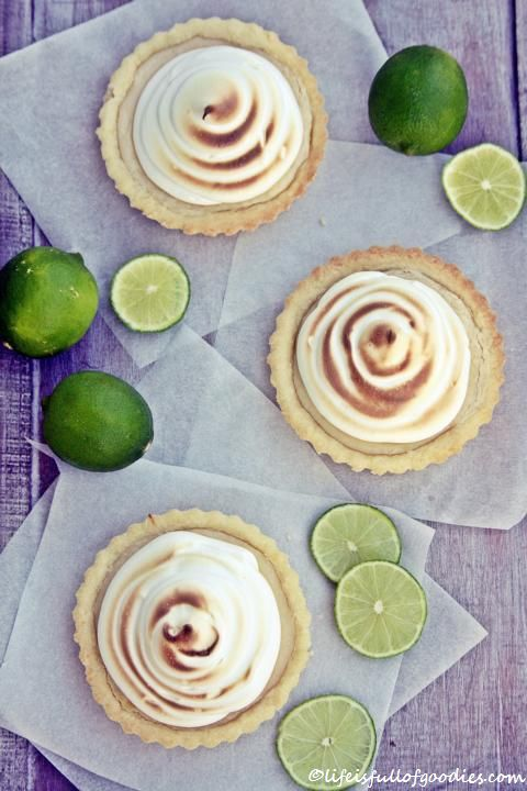 Key Lime Tartelettes