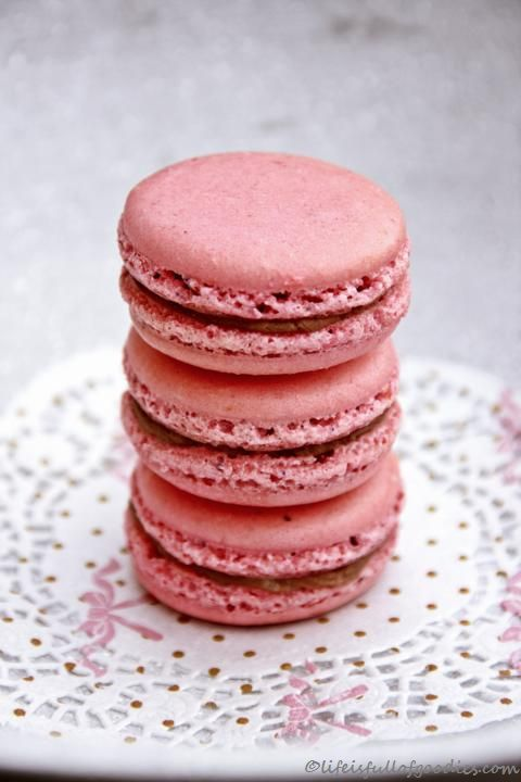 Yogurette Macarons