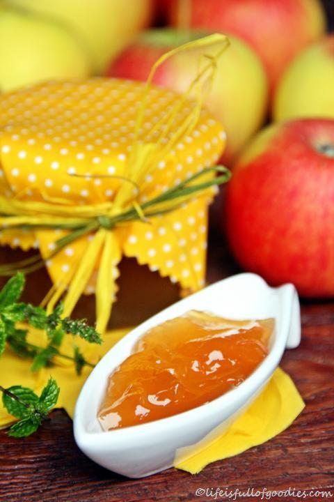 Apfel-Minz-Gelee