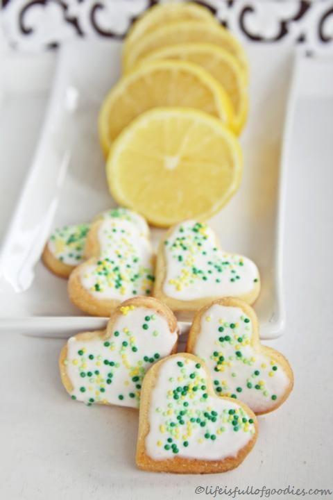 Zitronenherzen