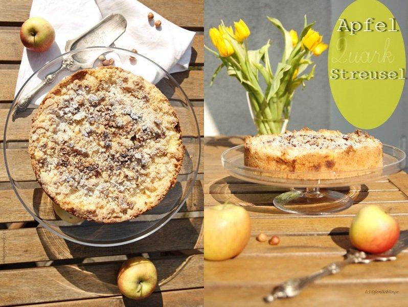Apfel-Quark-Streuselkuchen von Ofenlieblinge