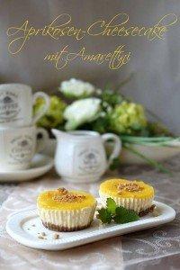 """Gastbeitrag: Aprikosen-Cheesecakes von """"Experimente aus meiner Küche"""""""