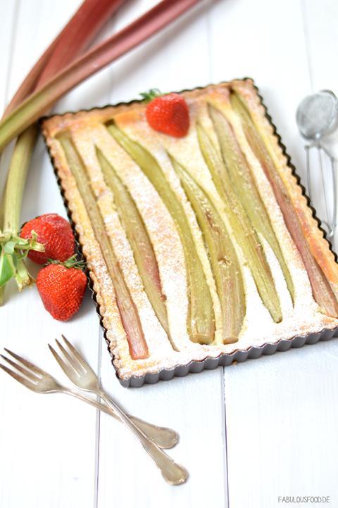 "Rhabarber-Käse-Tarte von ""Fabulous Food"""