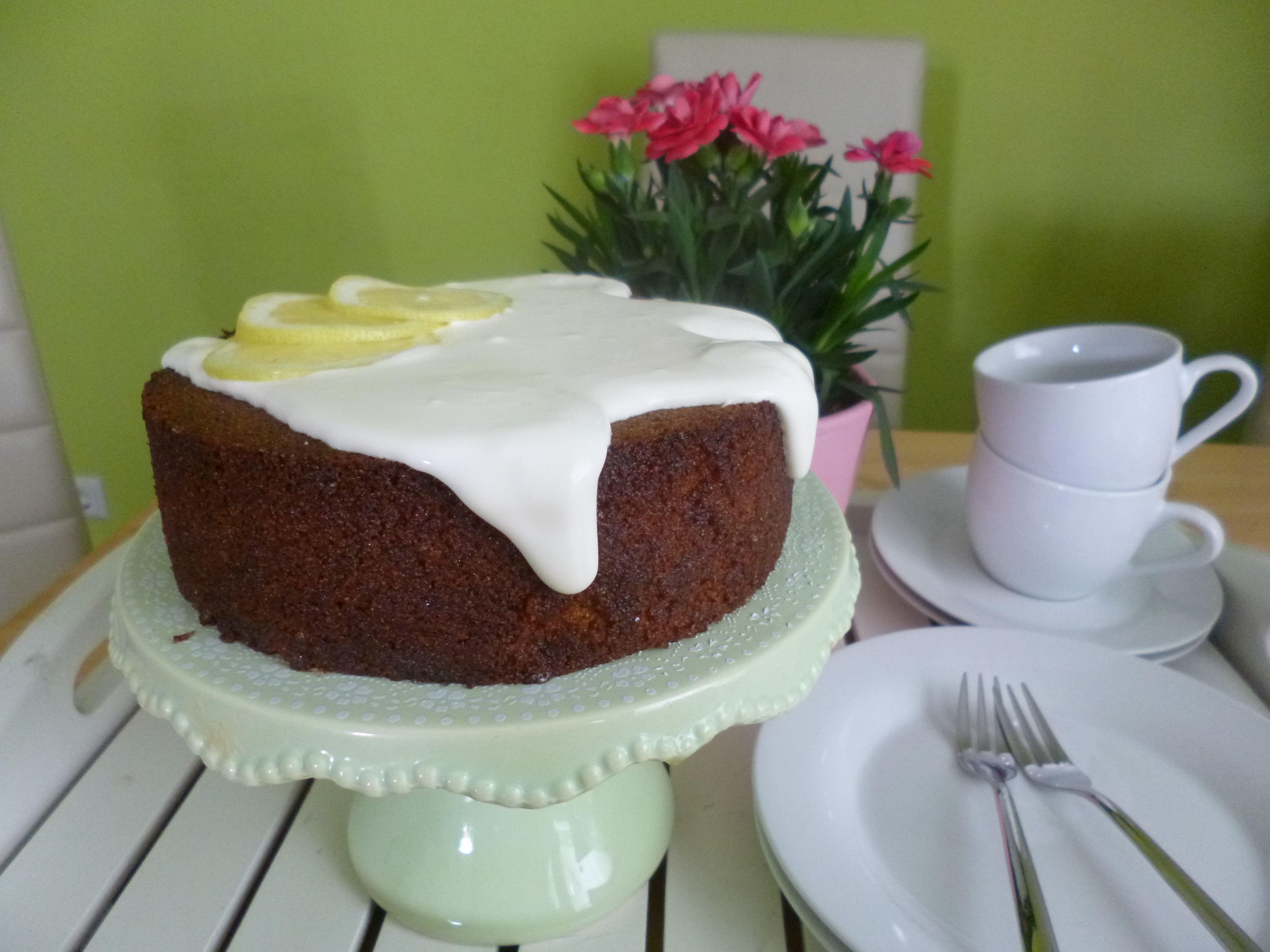 Zitronen-Polenta-Kuchen von Annelie S.