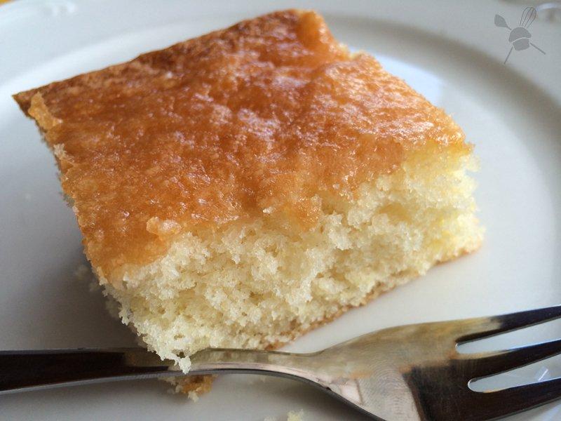 Zitronenkuchen mit Guss von Ilona vom Süßblog