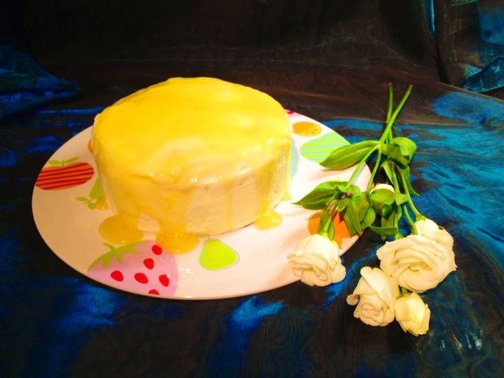 Zitronenkuchen mit Lemoncurd-Frosting von Anne von Eulenhöhle