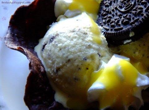 Eierlikör-Oreoeis aus der Brotecke