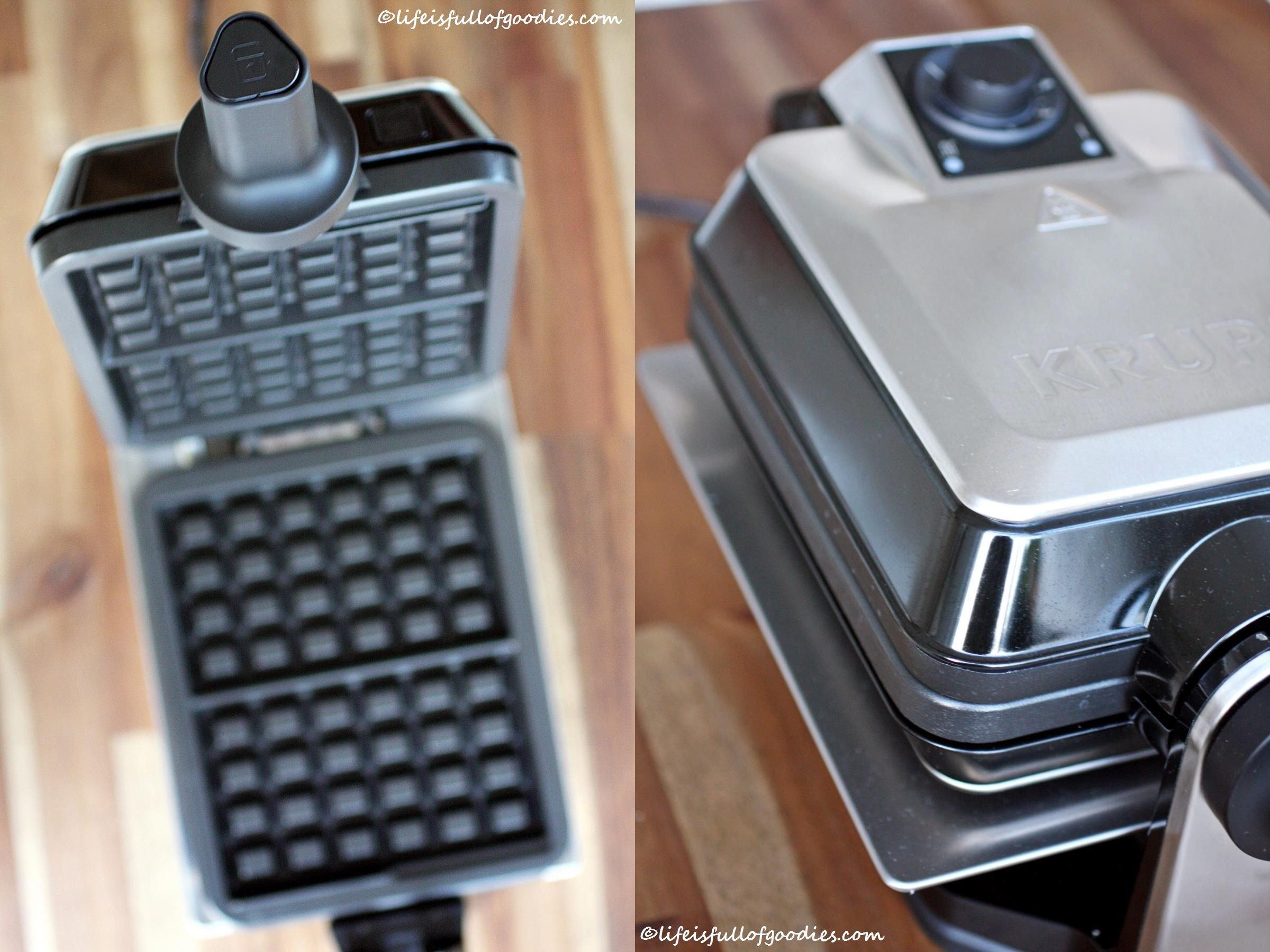Blueberry Buttermilk Waffles und ein heißes Eisen!
