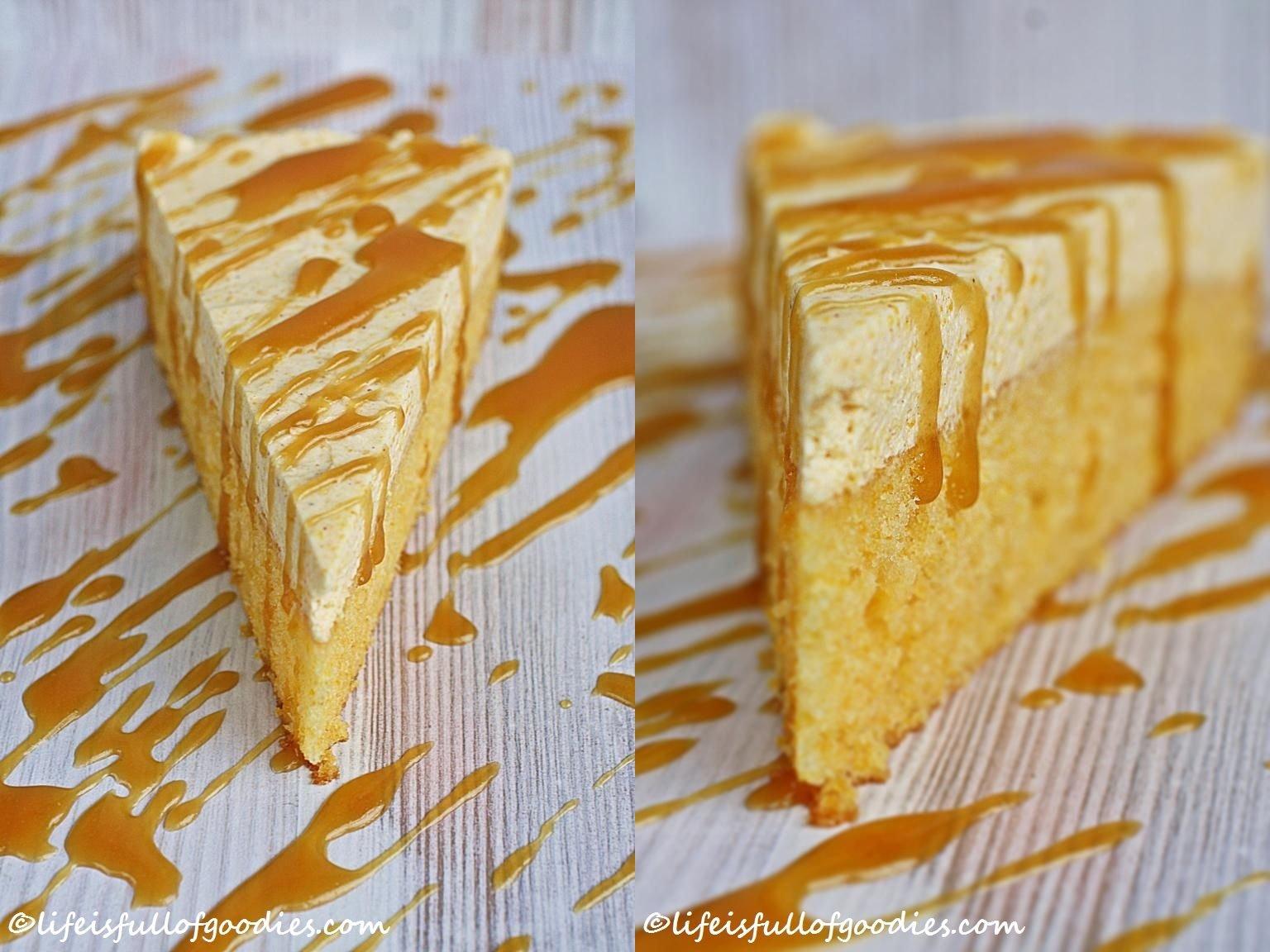 Double Pumpkin {Cheese-} Cake