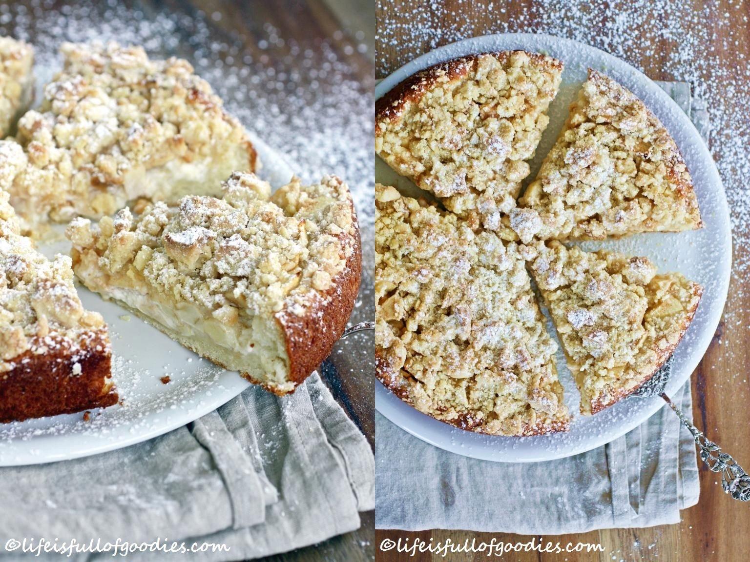 Apple Cream Pie Cake