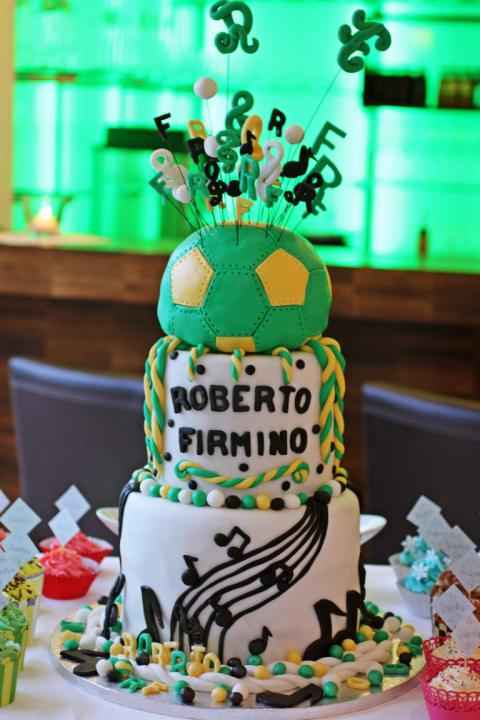 Roberto Firmino´s Birthday Cake