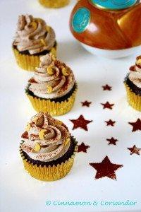 """Gastbeitrag: Arabische Mokka Cupcakes """"Baharat"""" von """"Cinnamon and Coriander"""""""