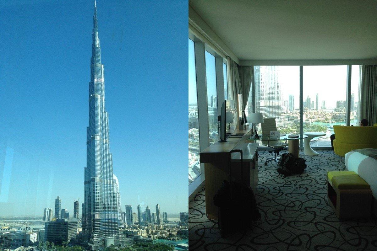 Stopover in Dubai mit einem Freund als Pilot