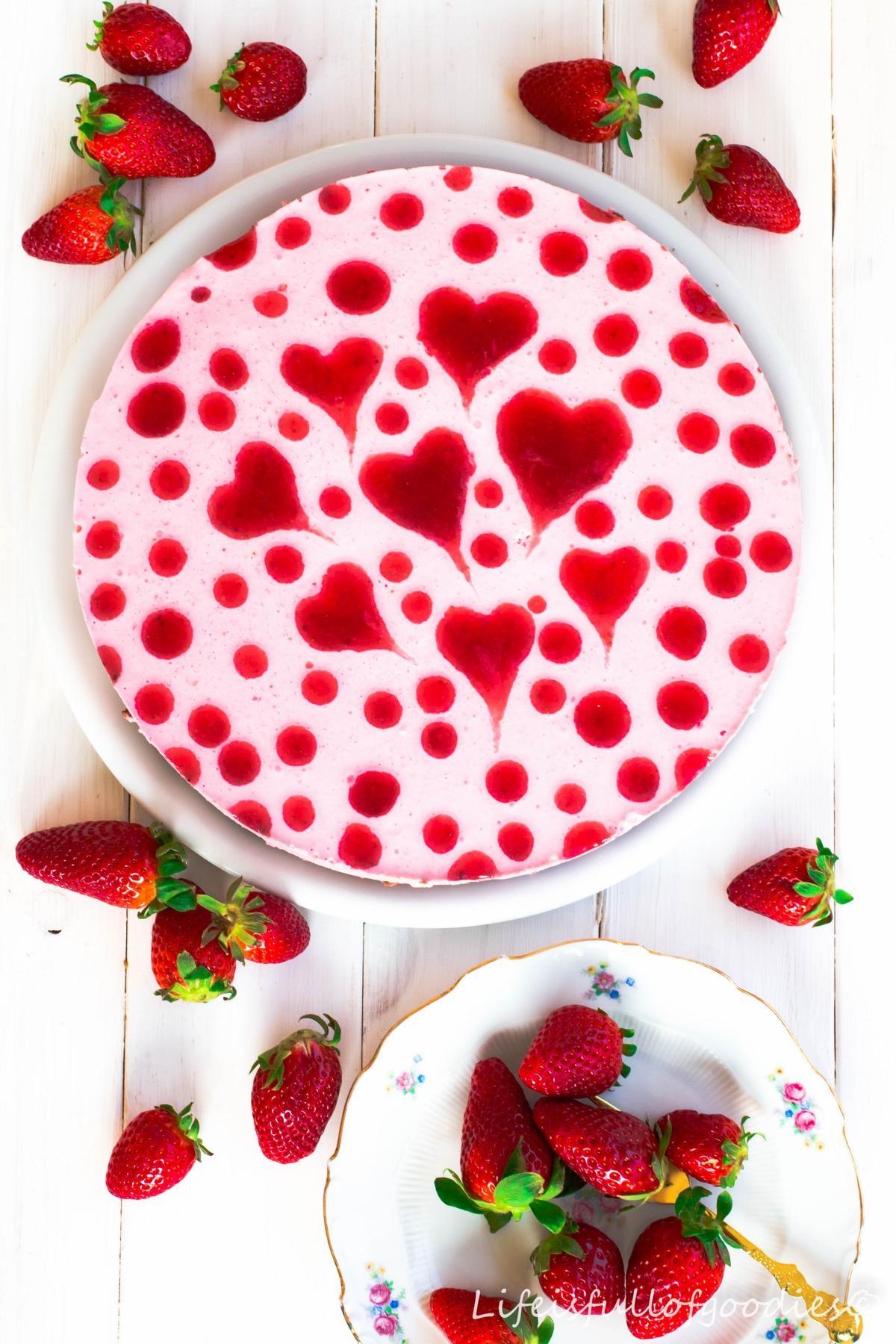 Herziger Erdbeer-Joghurt-Kuchen - Life Is Full Of Goodies