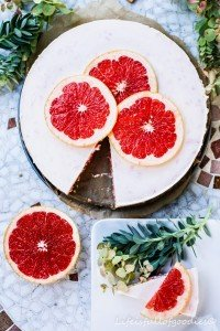 Grapefruit-Torte