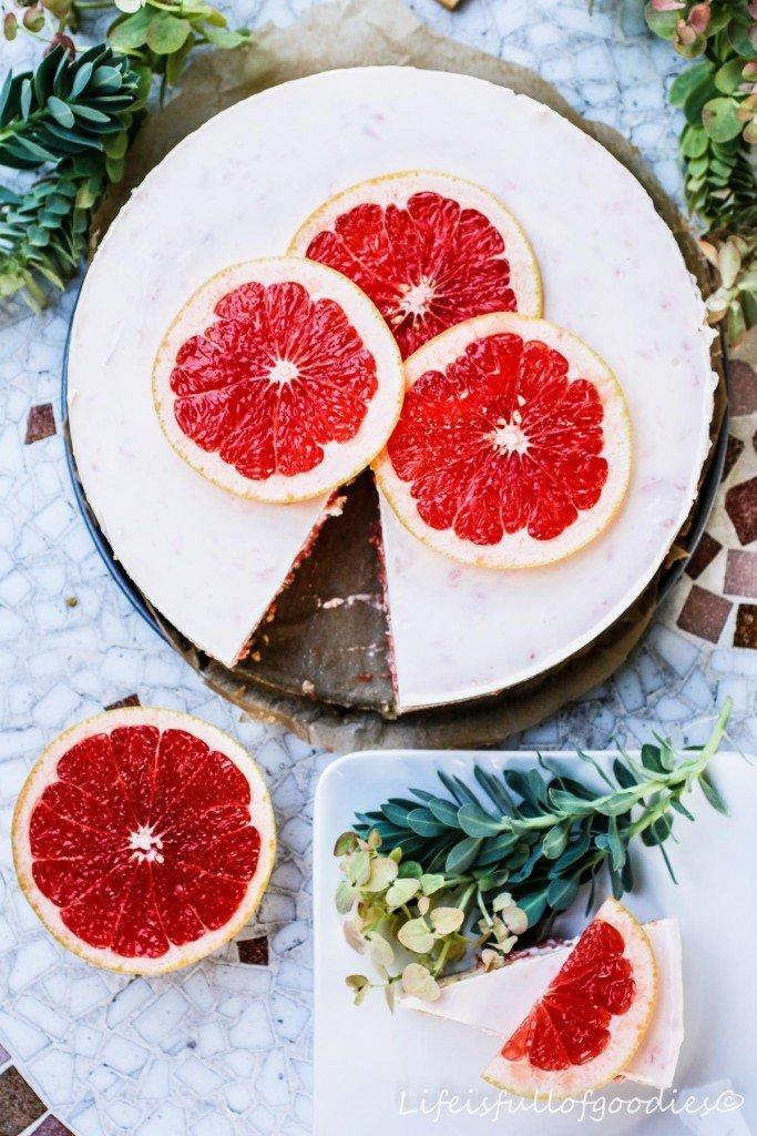 Grapefruit-Torte