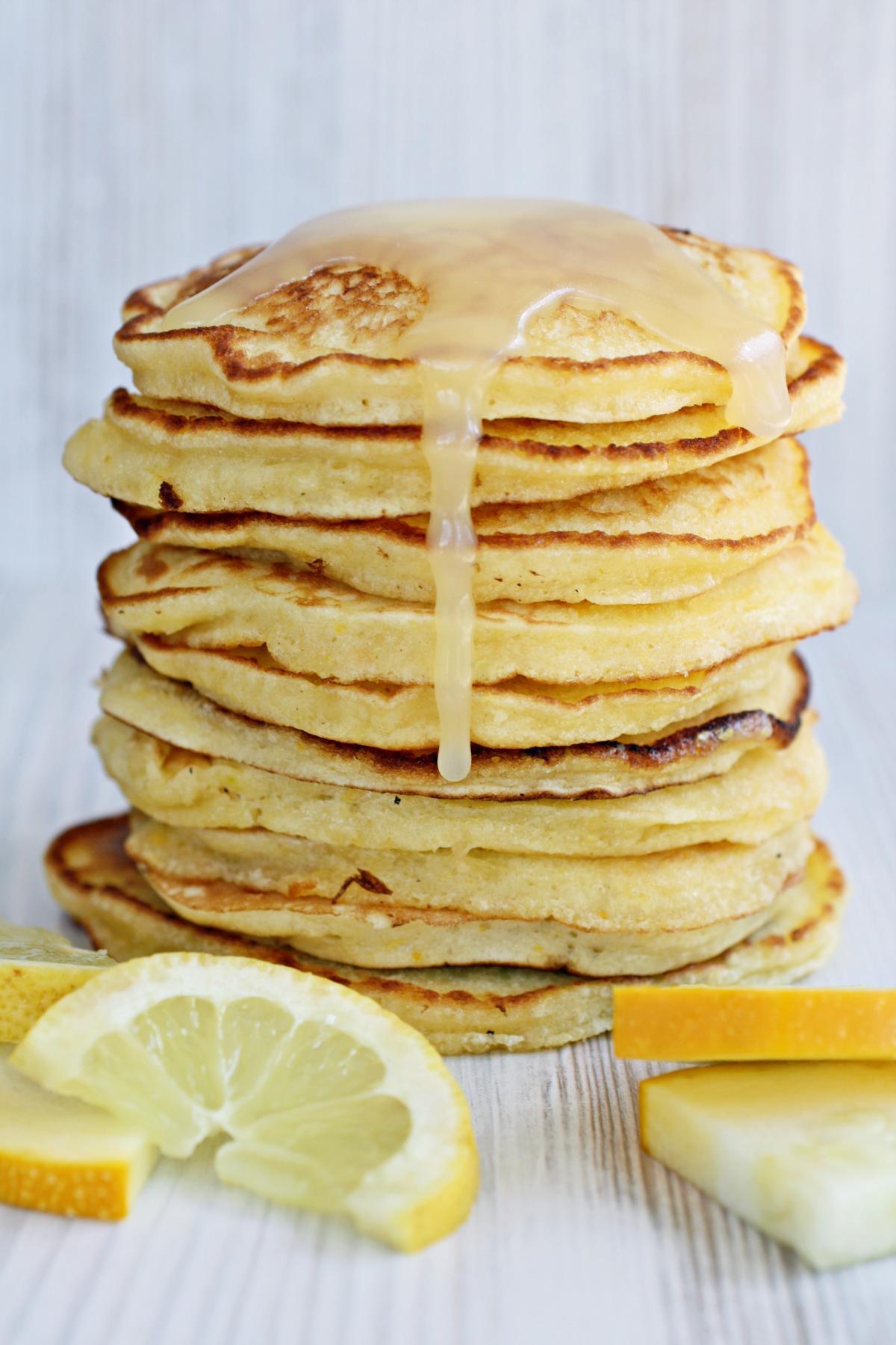 Mein Buch, Lemon Zucchini Pancakes