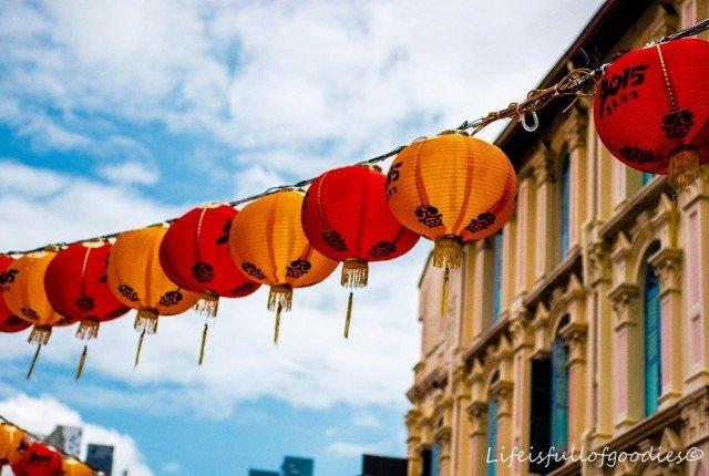 Chinatown und Little India in Singapur