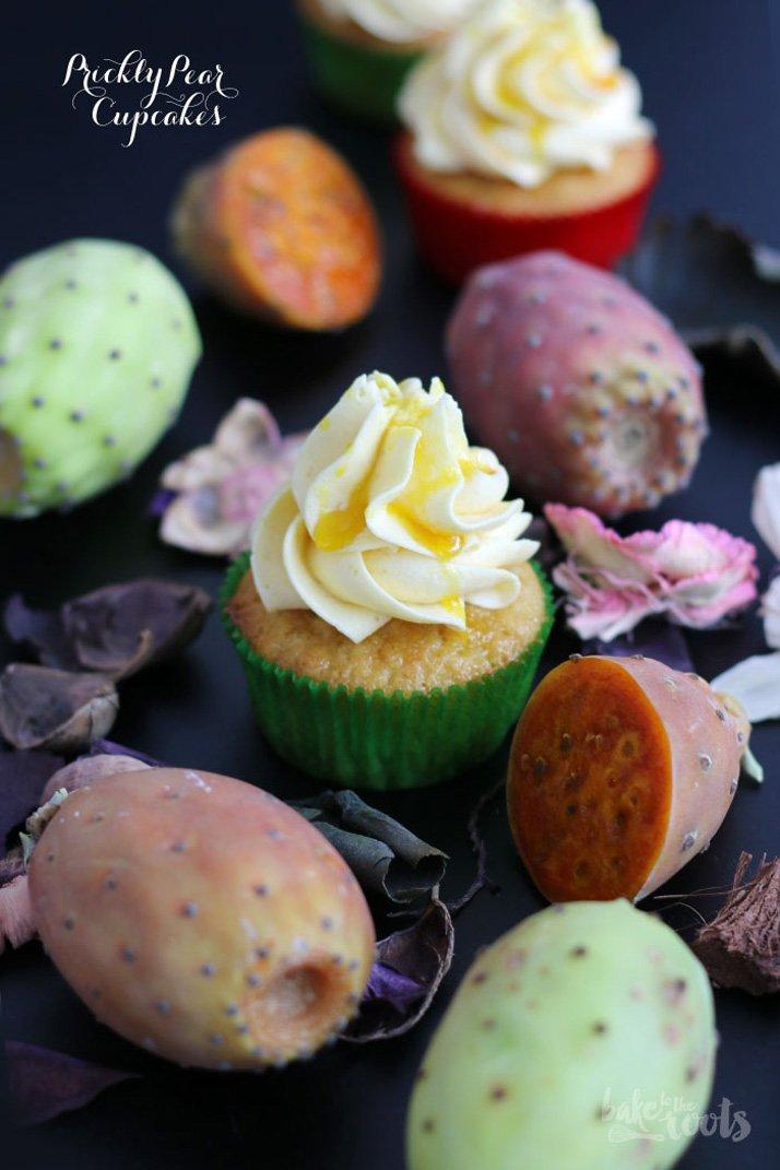 Gastbeitrag: Kaktusfeigen Cupcakes von Bake to the roots