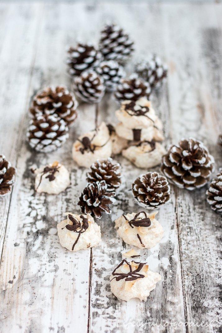 Weihnachtsplätzchen Kokosmakronen.Kokosmakronen Ein Klassiker Unter Den Plätzchen