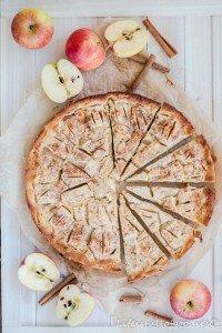 Apfelkuchen mit Rahmguss und eine Lektion fürs Leben