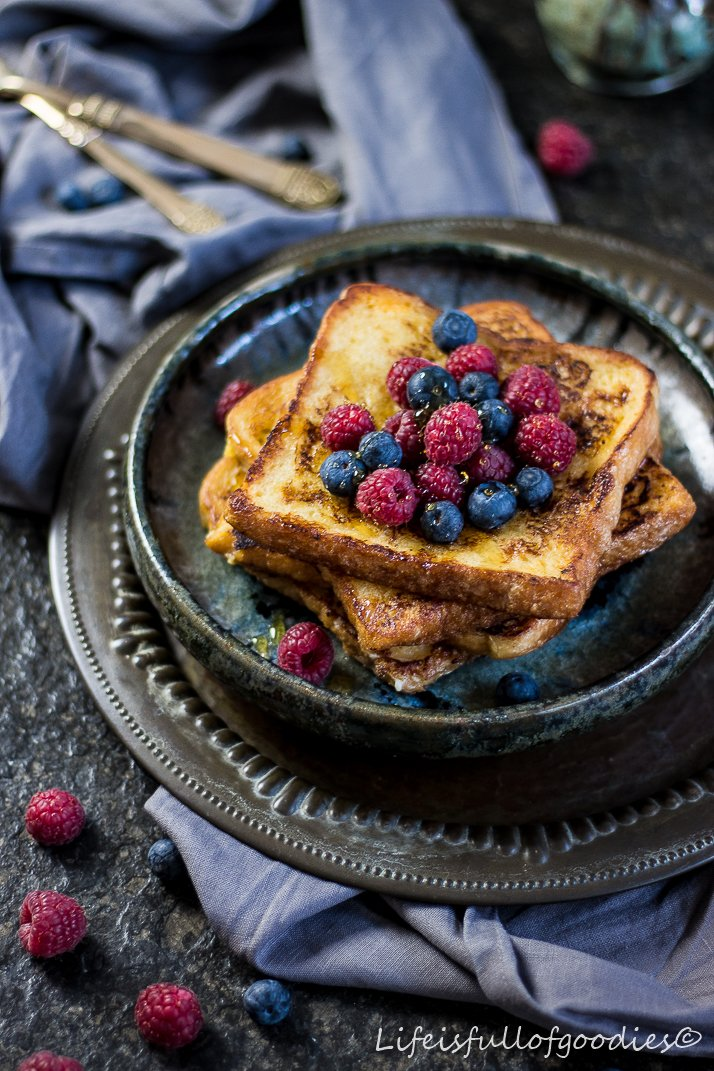 Süßer French Toast für FOODIES FOR SAILORS