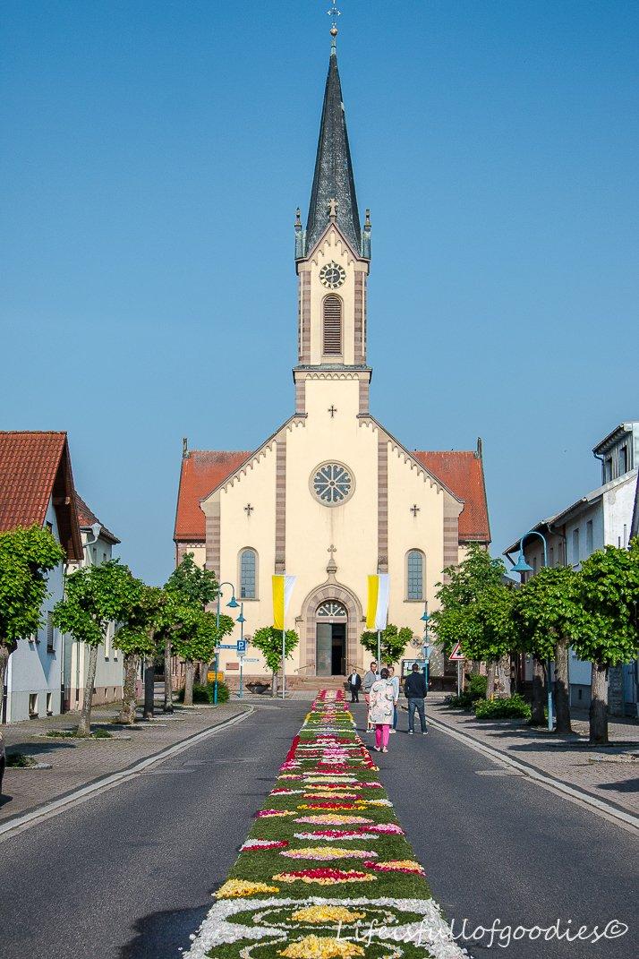 Fronleichnam in Karlsdorf