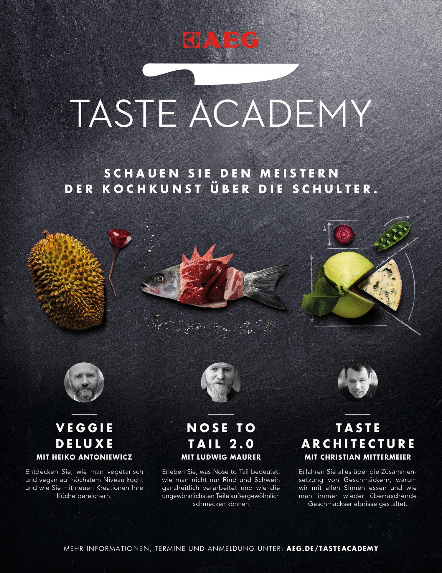 Gewinne 2 Tickets für die AEG Taste Academy in Speyer!