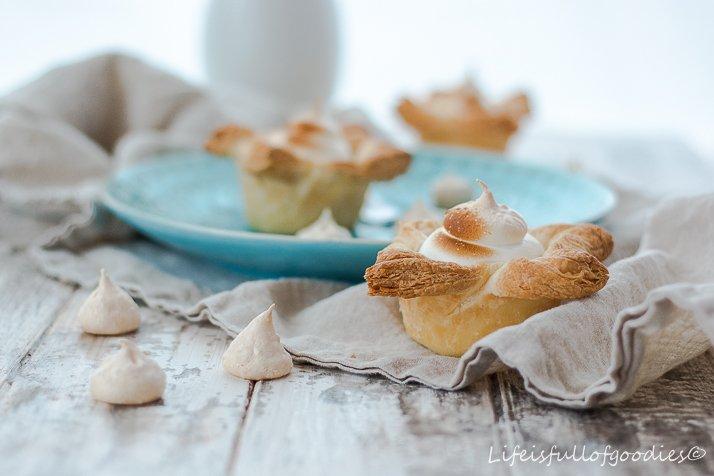 Rhabarber-Käsemuffins beim 1. Foto Workshop