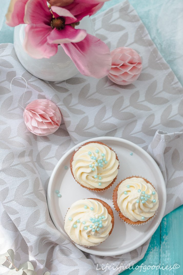 Apfel-Zimt-Cupcakes