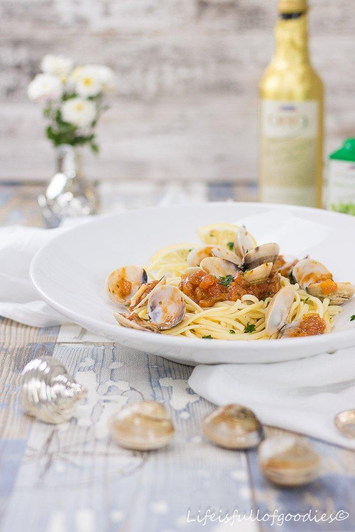 Spaghetti Vongole samt Kindheitserinnerungen