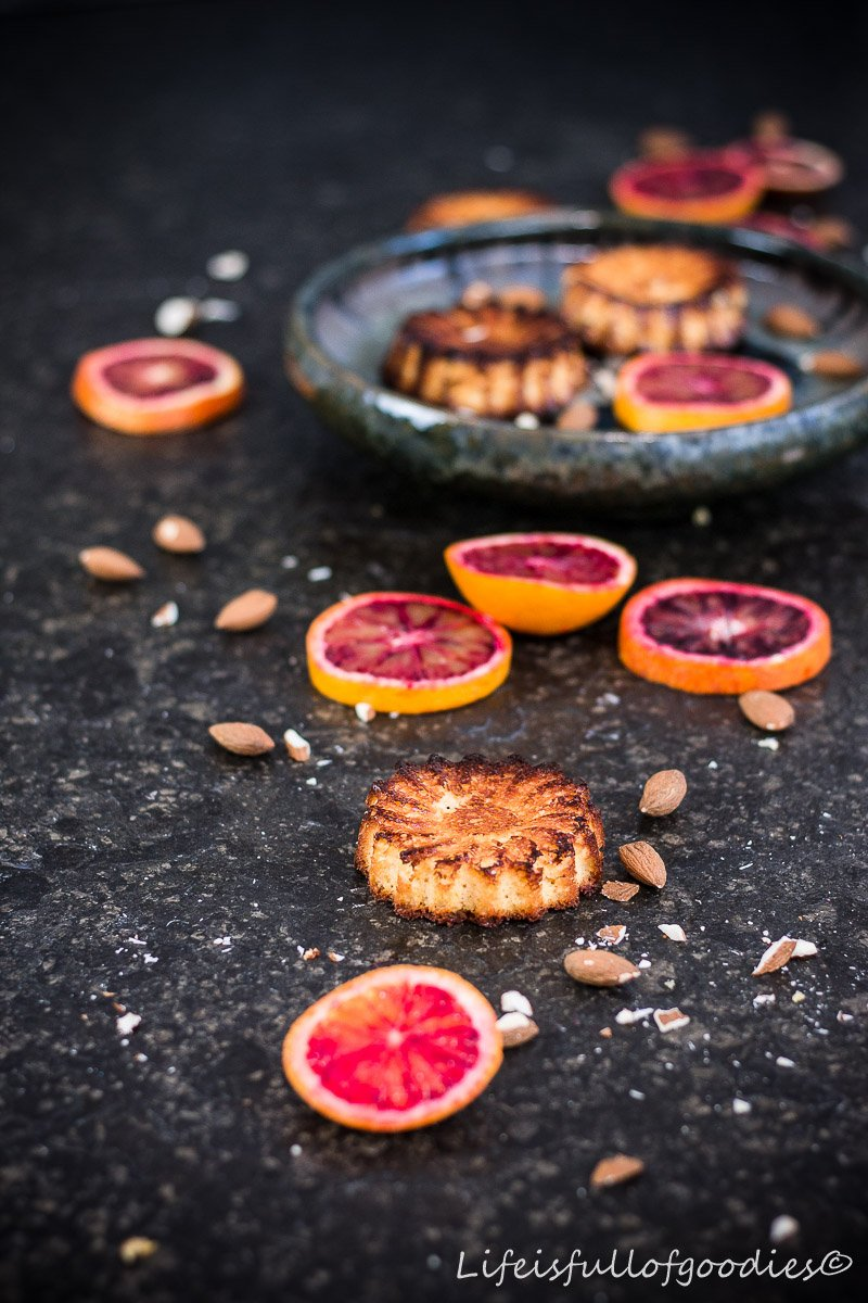 Orangen-Mandel-Küchlein