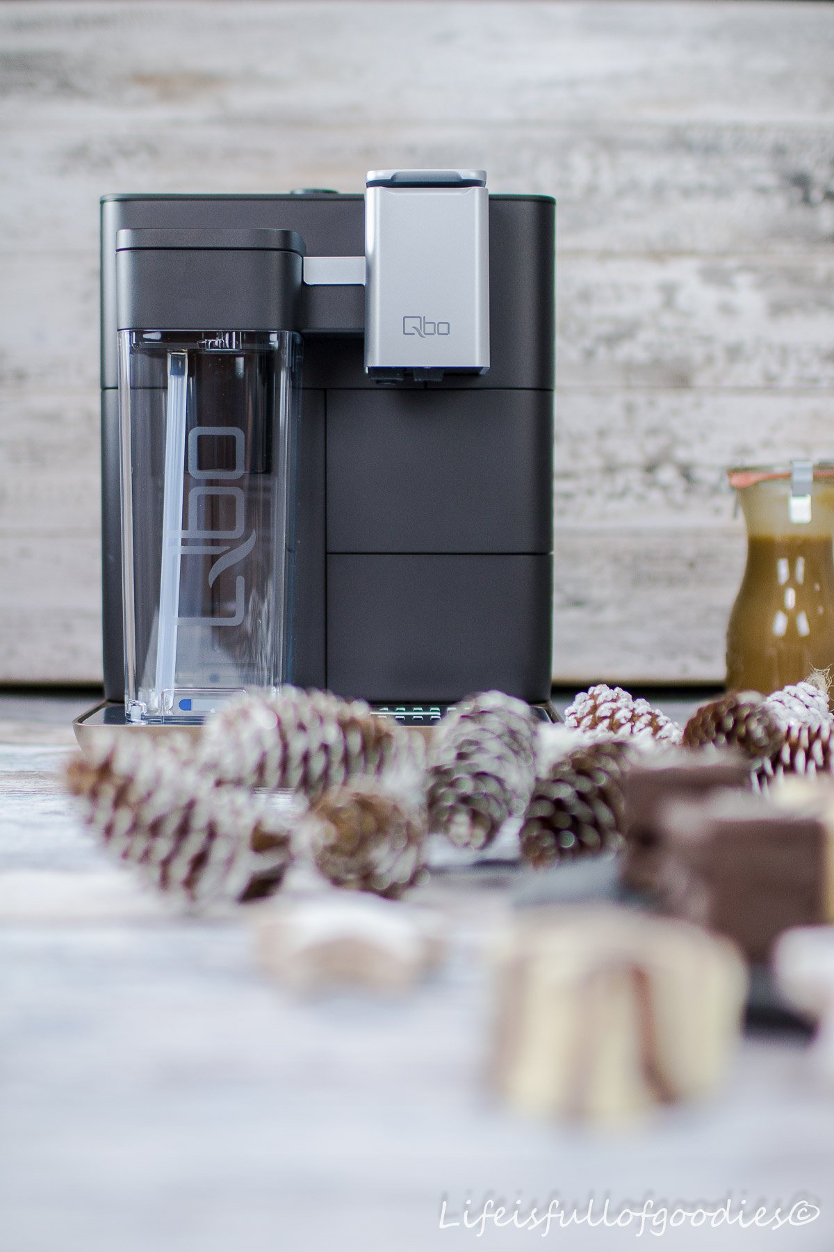 Latte Macchiato Marshmallows mit Kaffee-Karamellkern und Schokoüberzug