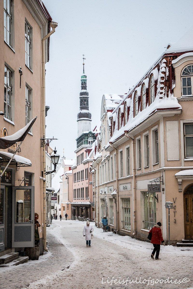 Von Riga nach Tallinn