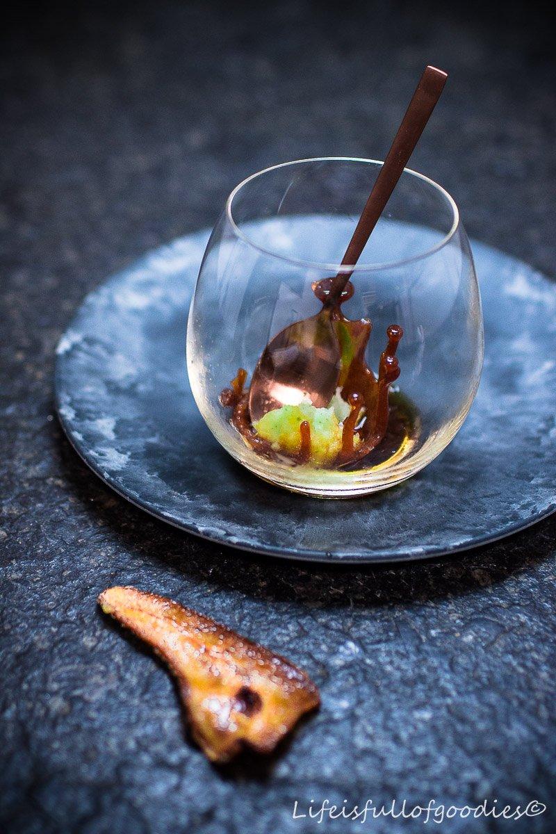 X-MAS Dinner 2016 - Birne, Basilikum, Kaffee