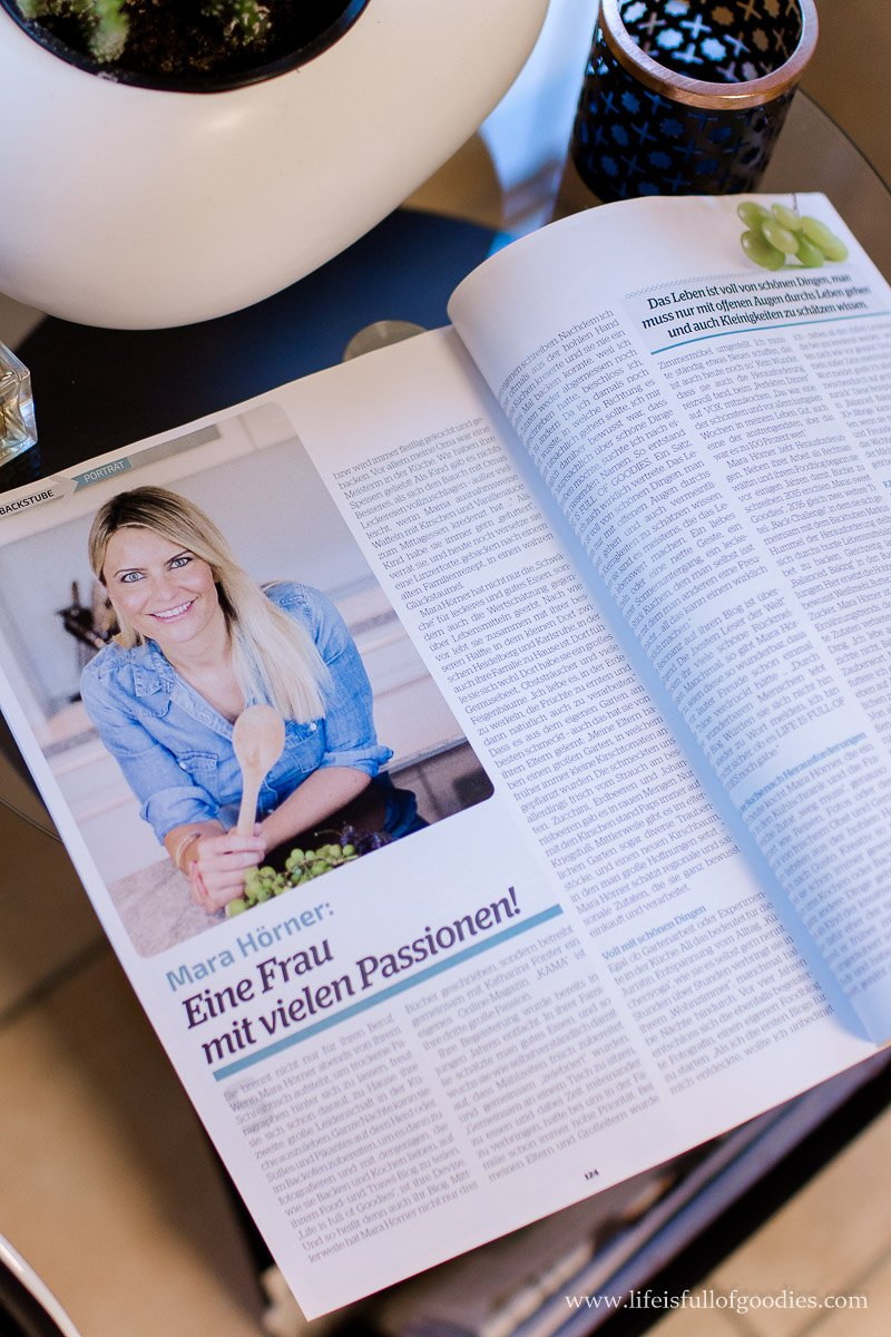 Interview mit mir in der HEALTHY FOR YOU