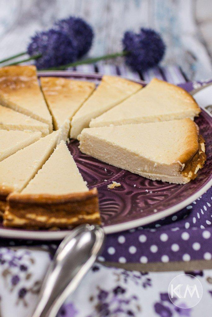 Käsekuchen Low Carb & Low Fat von KAMA