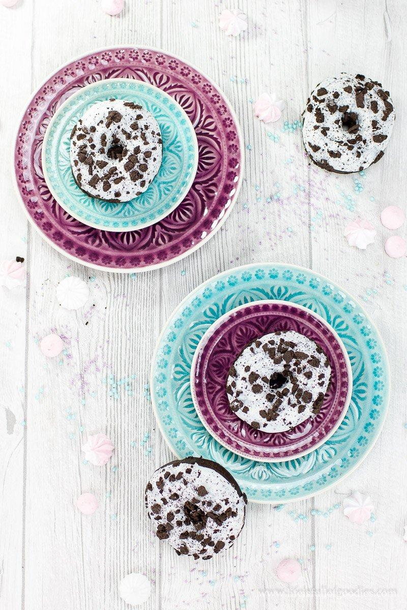Sieh das Leben durch die Oreo-Donut-Brille