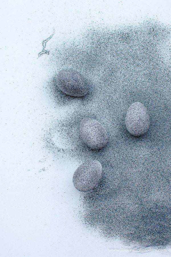 Granit-Ostereier