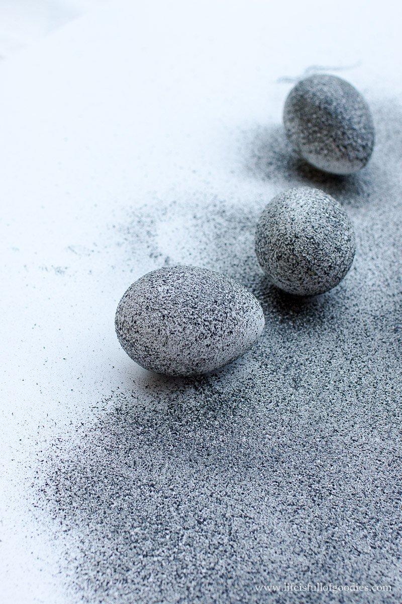 Granit-Ostereier - ein DIY