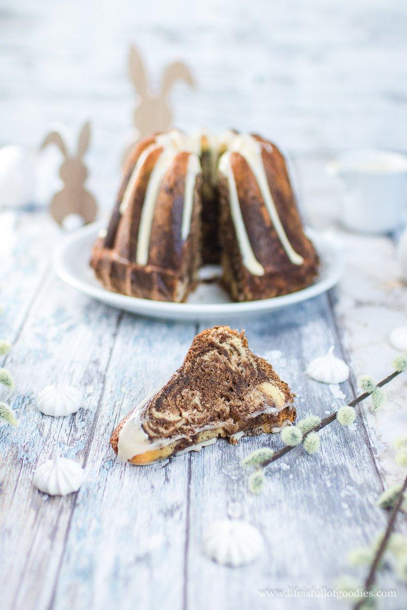 Eierlikör-Marmorkuchen - saumäßig saftig und lecker!