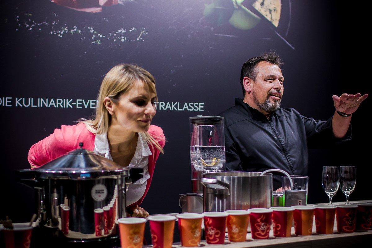 Die AEG Taste Academy 2017 auf der Slow Food Messe