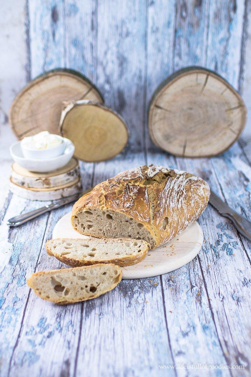 Einfaches No Knead Bread