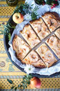 Rustikale Apfelpizza – eine süße Alternative zum Apfelkuchen