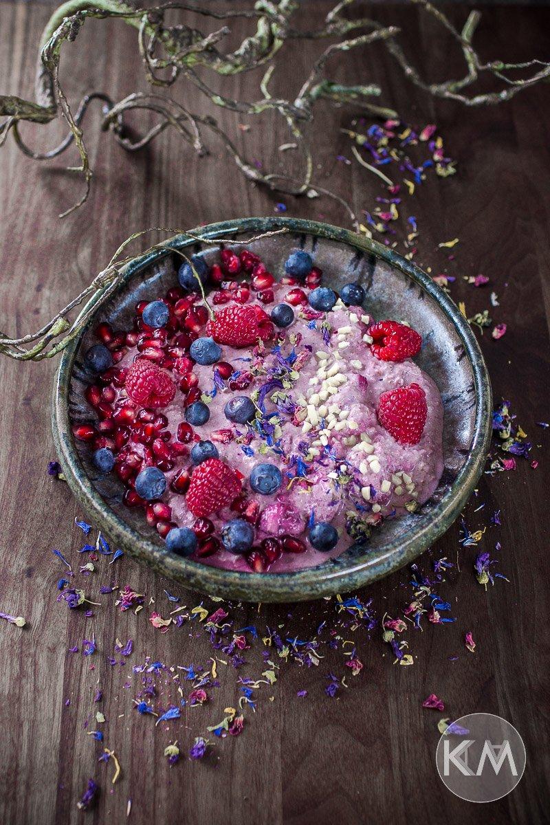 Overnight Berry Oats - cremig, fruchtig und gesund zugleich