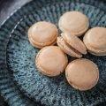 Macarons mit salzigem Karamell