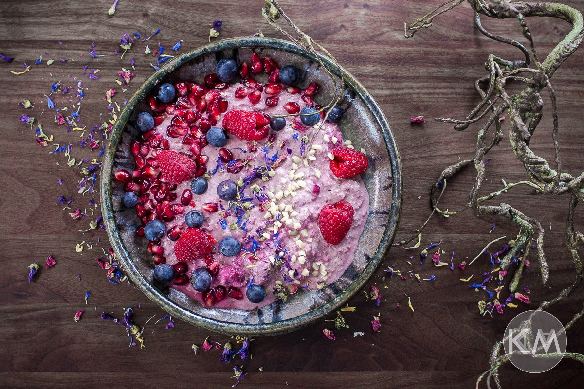 Overnight Berry Oats - cremig und fruchtig zugleich